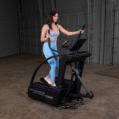 Body-Solid Endurance E5000 Center Drive Elliptical Scenic