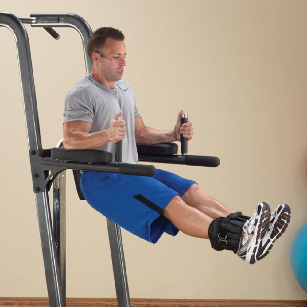 Body-Solid FCD Fusion VKR Dip Pull Up Station Leg Lift