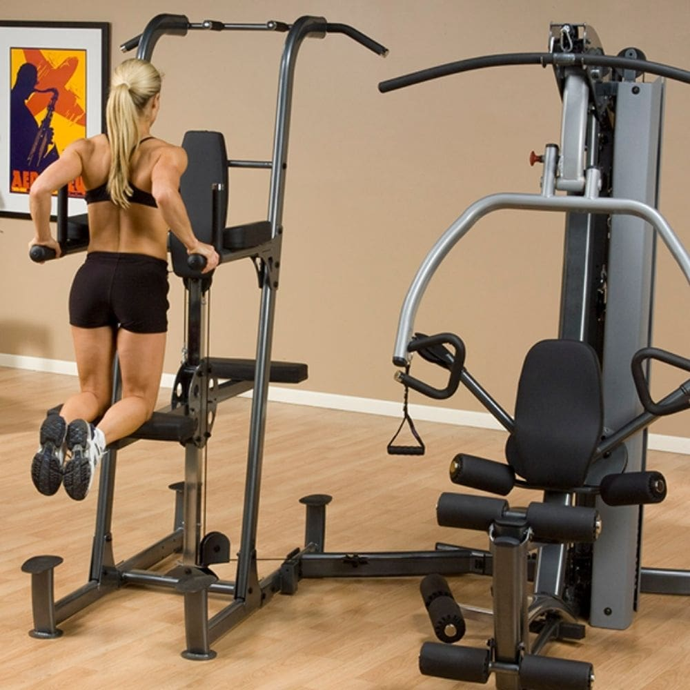 Body-Solid FCDWA Fusion Weight-Assisted Dip & Pull-Up Station Dip