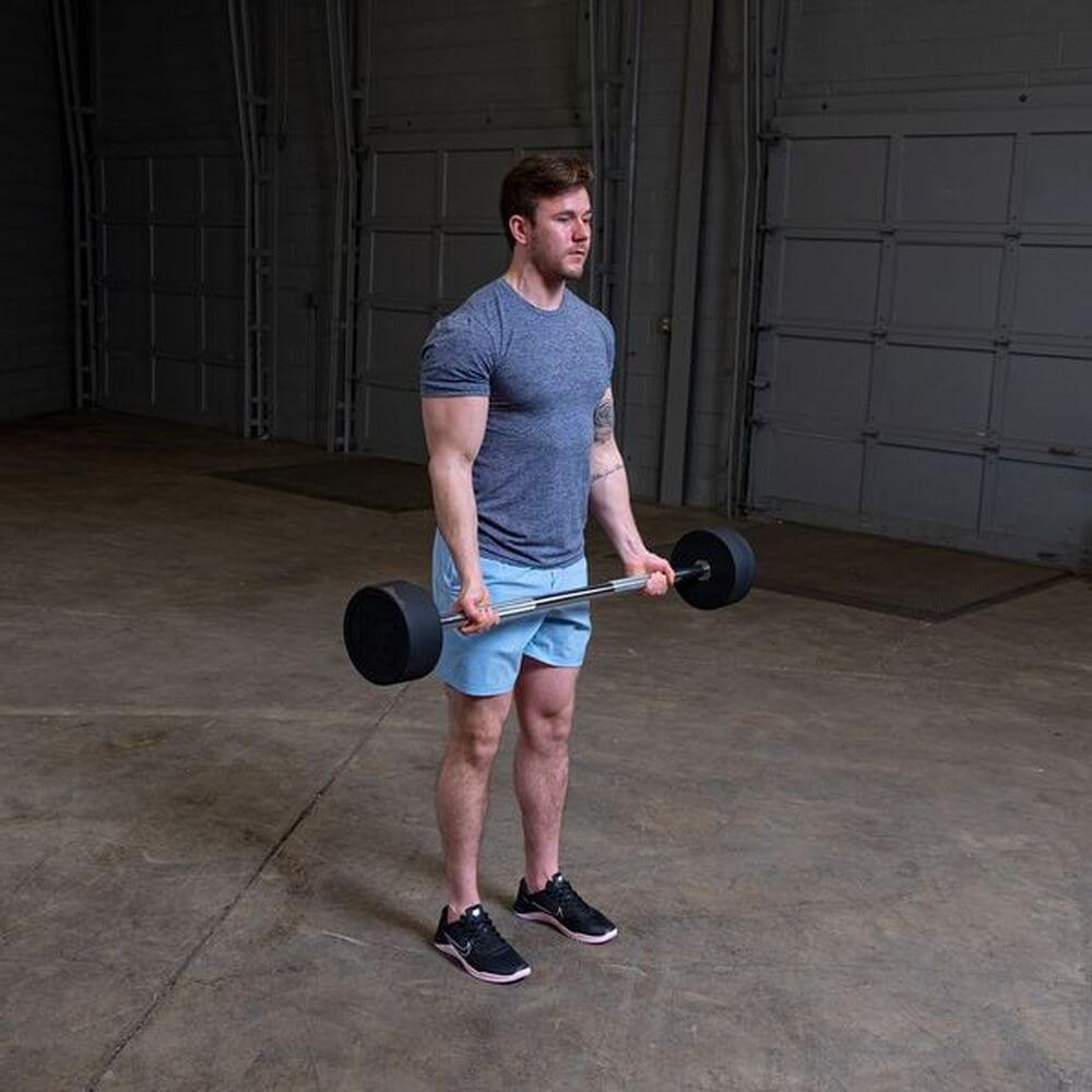 Body-Solid Fixed Barbell Sets Bicep Curl
