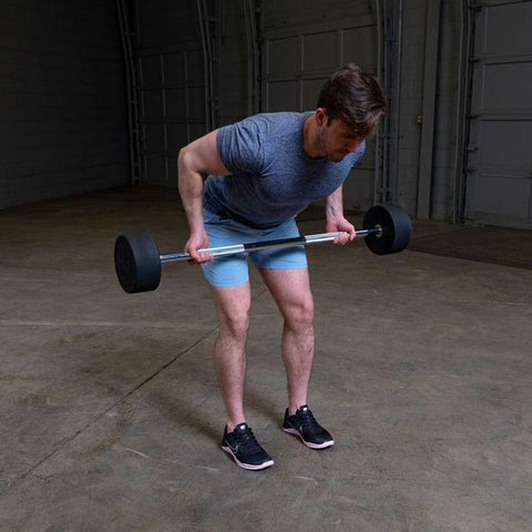 Image of Body-Solid Fixed Barbell Sets DeadLift