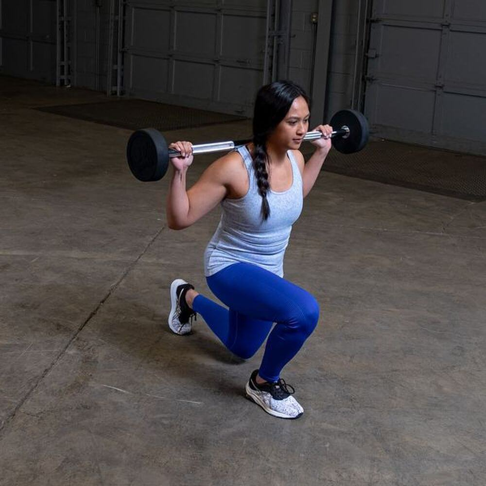 Body-Solid Fixed Barbell Sets Squat