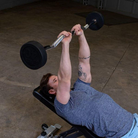 Image of Body-Solid Fixed Curl Bar Sets Press