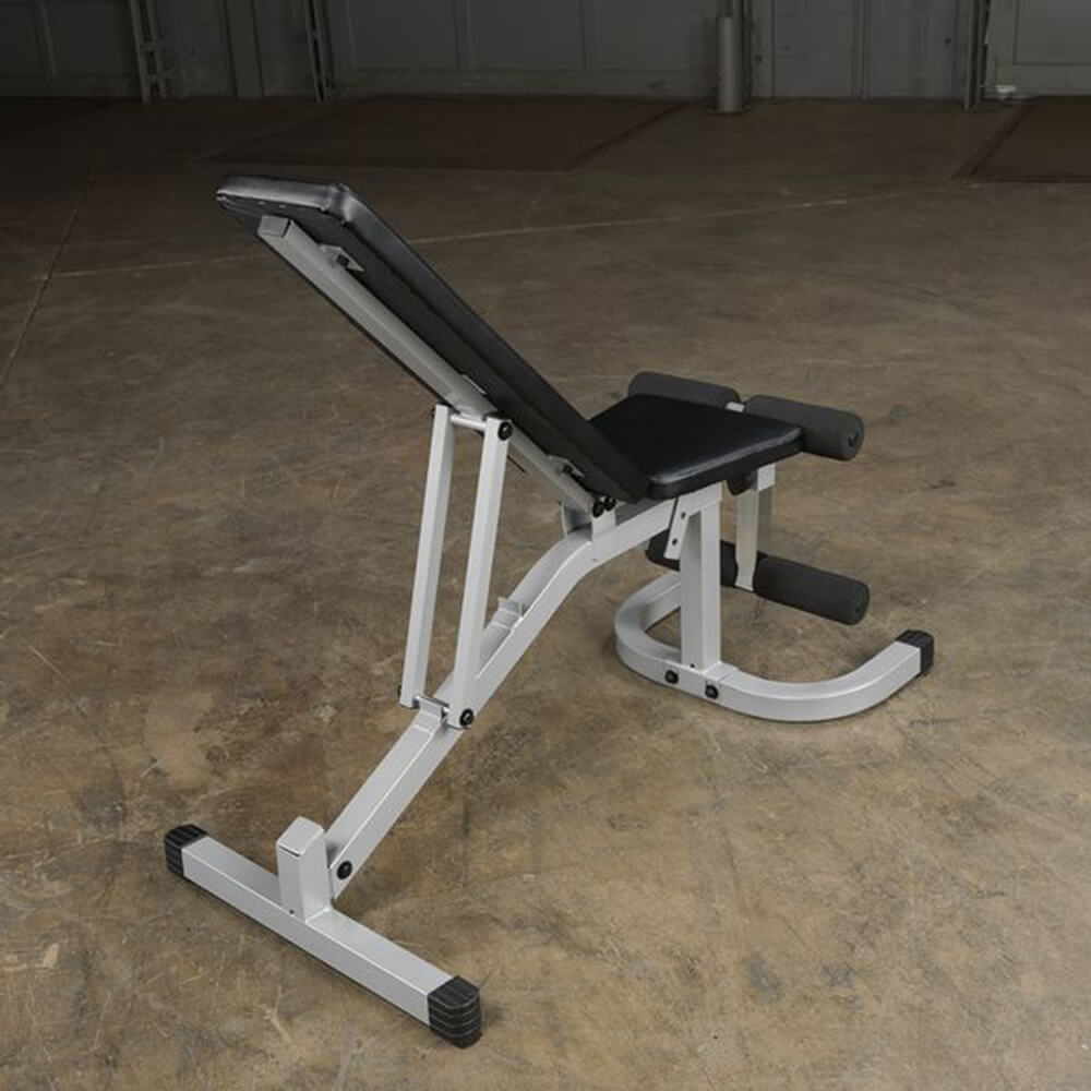Body-Solid Flat Incline Decline Bench PFID130X Back Side View