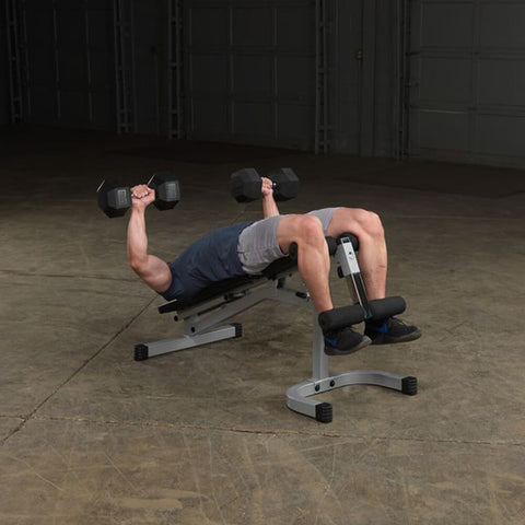 Image of Body-Solid Flat Incline Decline Bench PFID130X Exercise Declined