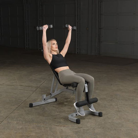 Body-Solid Flat Incline Decline Bench PFID130X Exercise Incline