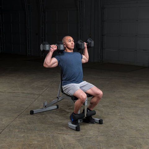 Image of Body-Solid Flat Incline Decline Bench PFID130X Exercise Lift