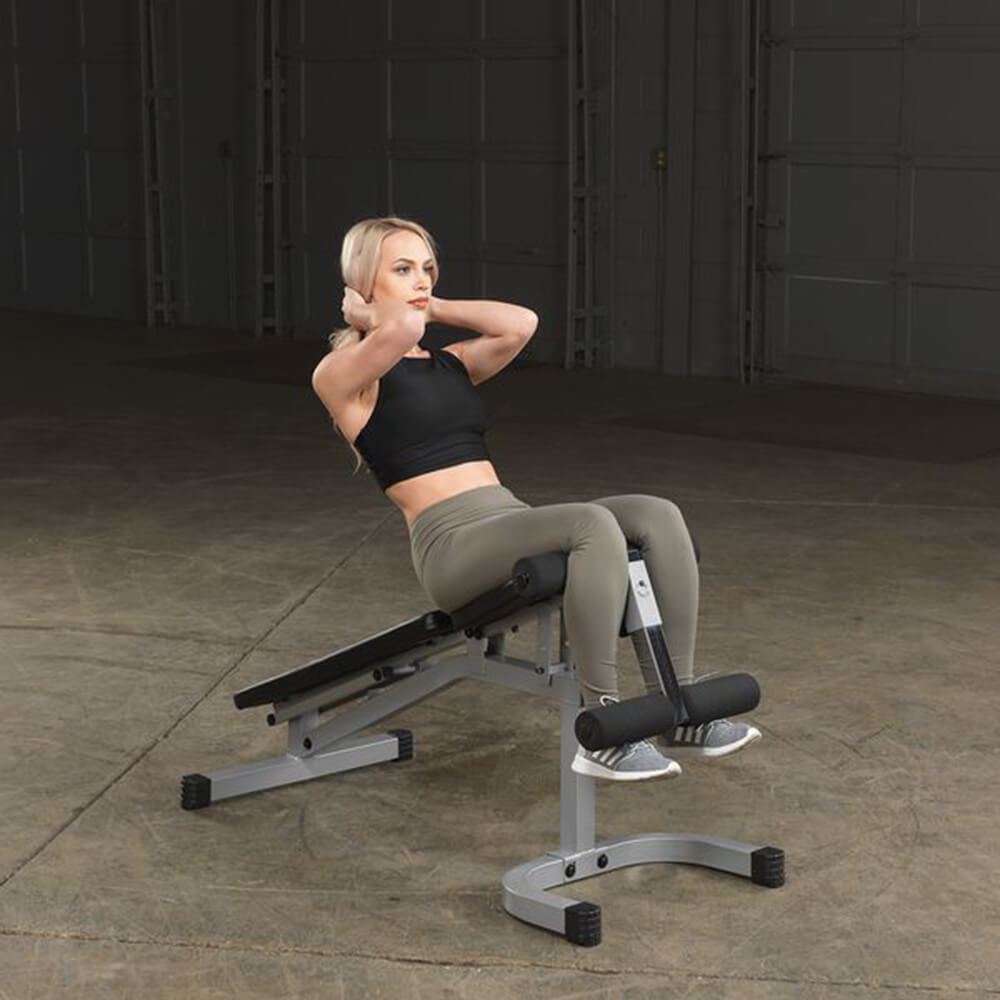 Body-Solid Flat Incline Decline Bench PFID130X Exercise Sit Up