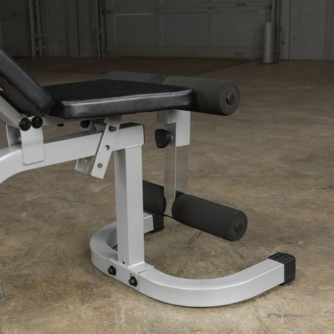Image of Body-Solid Flat Incline Decline Bench PFID130X Side View