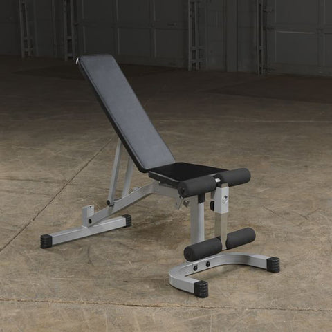 Image of Body-Solid Flat Incline Decline Bench PFID130X Top Front Side View