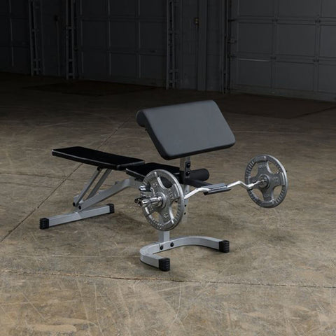 Image of Body-Solid Flat Incline Decline Bench PFID130X With Plates