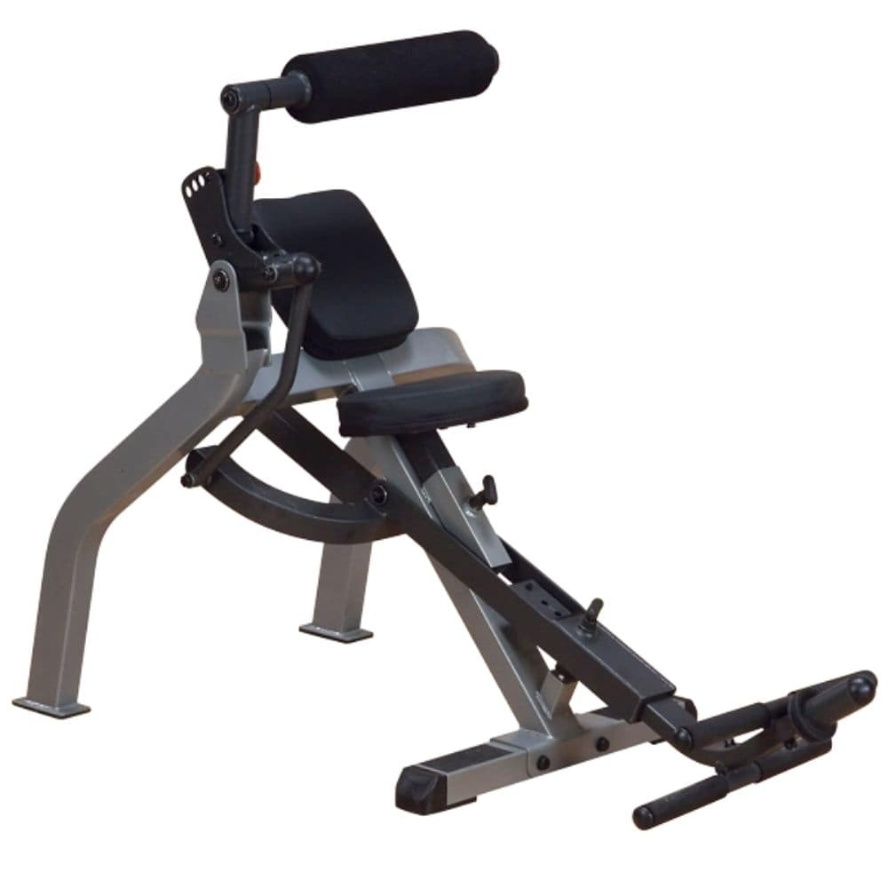Body-Solid GAB350 Semi-Recumbent Dual Ab Bench 3D View