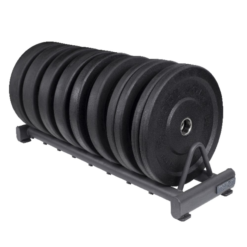 Body-Solid GBPR10 Rubber Bumper Plate Rack Black Plates