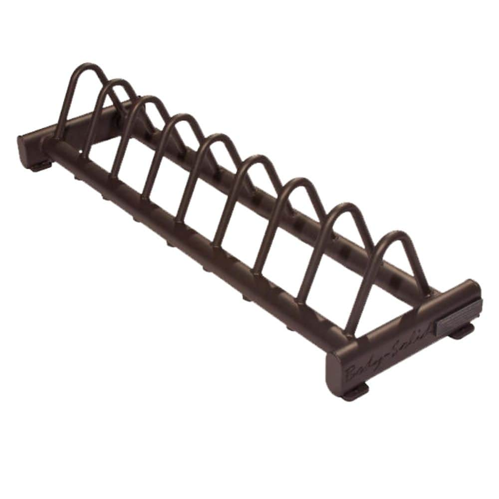 Body-Solid GBPR10 Rubber Bumper Plate Rack Empty