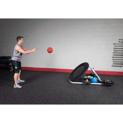 Body-Solid GBR10 Ball Rebounder In Motion