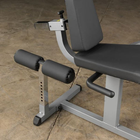 Body-Solid GCEC340 Cam Series Leg Extension and Adjustable Seat