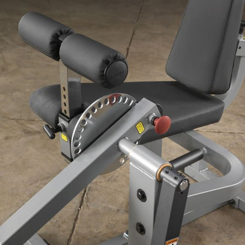 Body-Solid GCEC340 Cam Series Leg Extension and Curl Seat And Pad