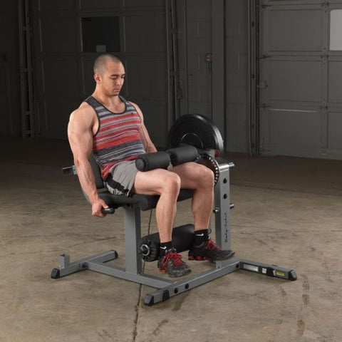 Body-Solid GCEC340 Cam Series Leg Extension and Curl Sitting