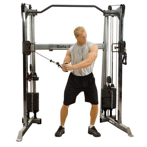 Body-Solid GDCC200 Functional Training Center Front View Swing