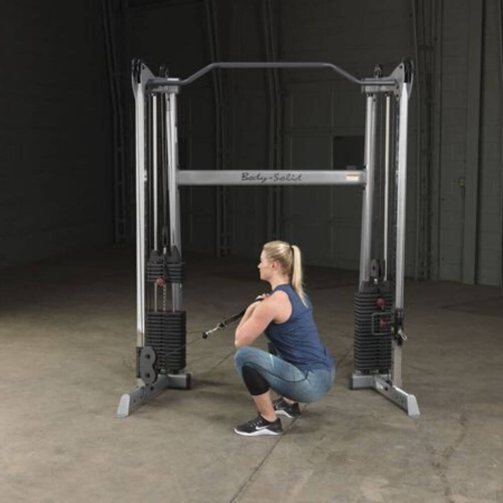 Body-Solid GDCC200 Functional Training Center Low Pull Squat