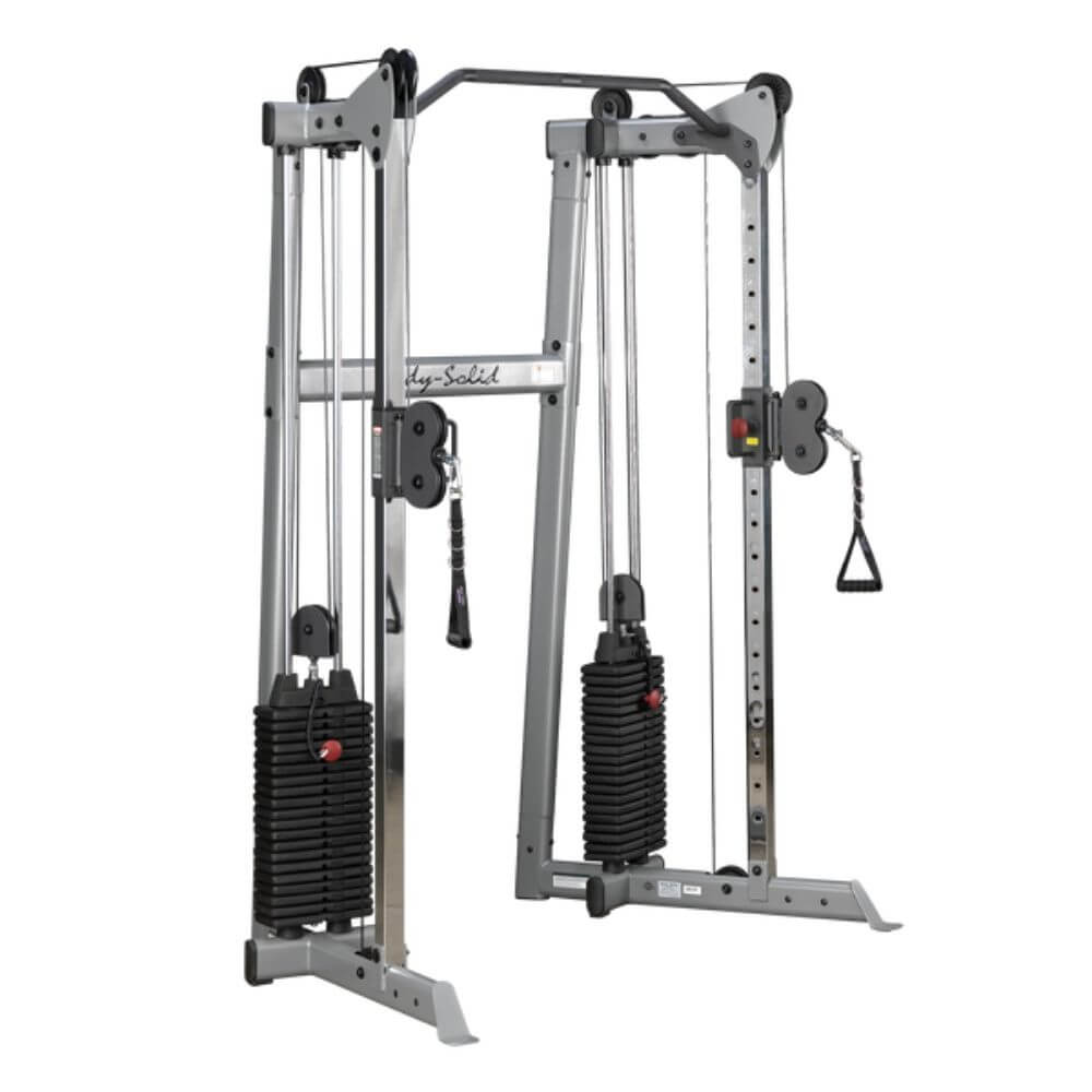 Body-Solid GDCC210 Compact Functional Training Center 3D View