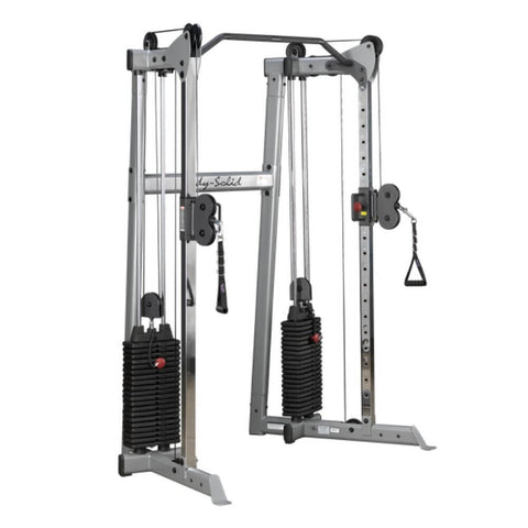 Image of Body-Solid GDCC210 Compact Functional Training Center 3D View