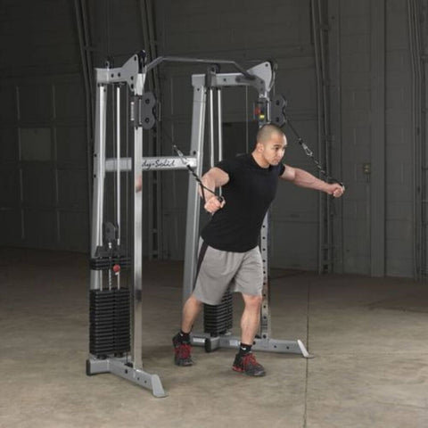 Body-Solid GDCC210 Compact Functional Training Center Bicep Fly