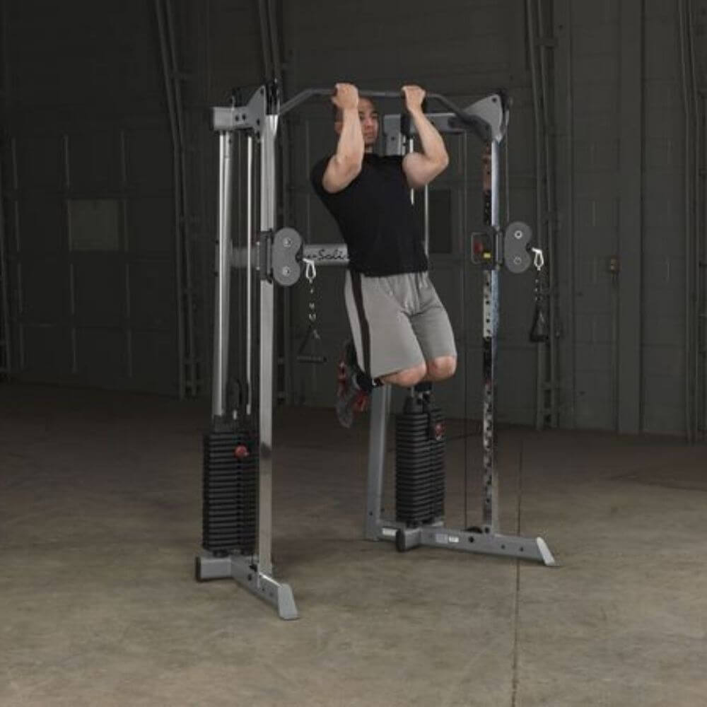 Body-Solid GDCC210 Compact Functional Training Center Chin Up