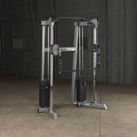 Body-Solid GDCC210 Compact Functional Training Center Facing Right