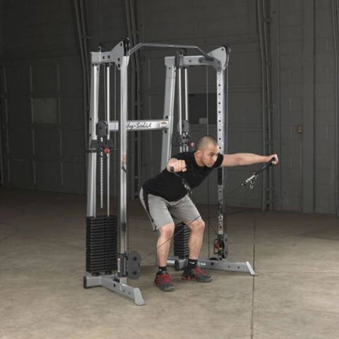 Image of Body-Solid GDCC210 Compact Functional Training Center Fly