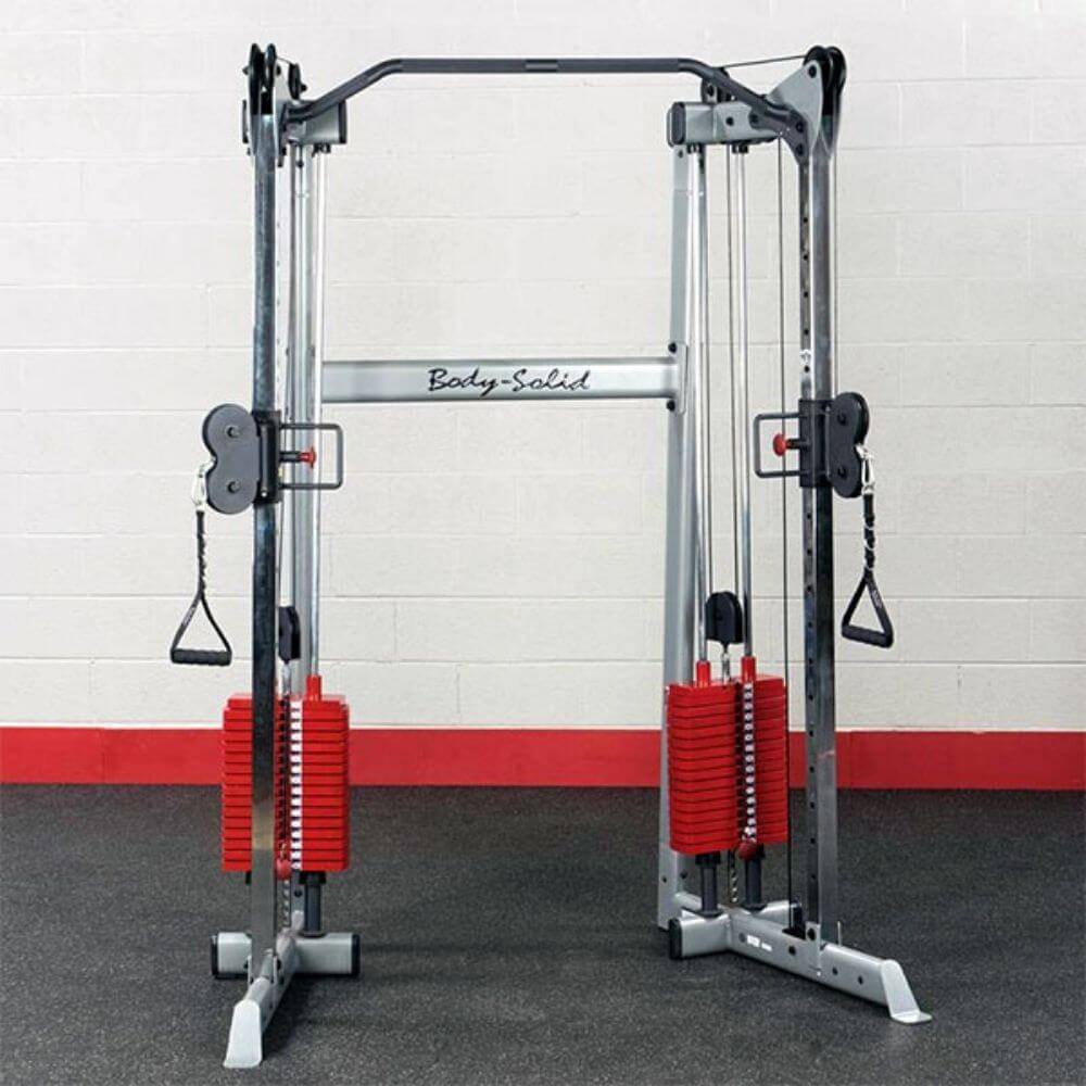 Body-Solid GDCC210 Compact Functional Training Center Front View