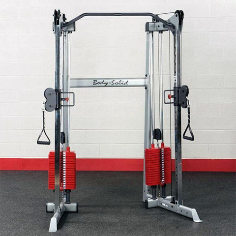 Image of Body-Solid GDCC210 Compact Functional Training Center Front View