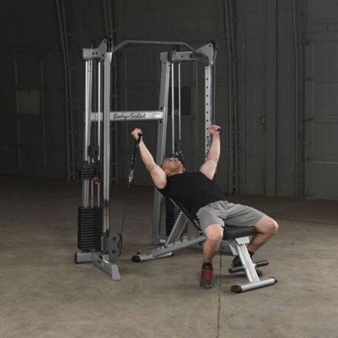 Body-Solid GDCC210 Compact Functional Training Center Inclined Press
