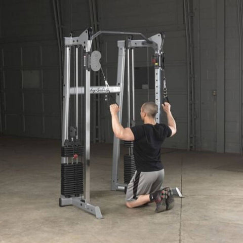 Body-Solid GDCC210 Compact Functional Training Center Kneel