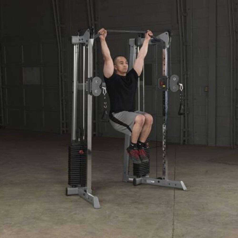Body-Solid GDCC210 Compact Functional Training Center Pull Up
