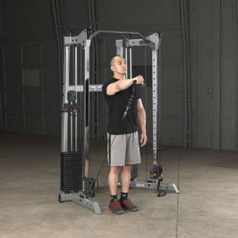 Image of Body-Solid GDCC210 Compact Functional Training Center Shoulder Raise