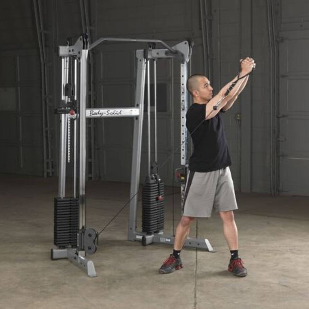 Body-Solid GDCC210 Compact Functional Training Center Swing