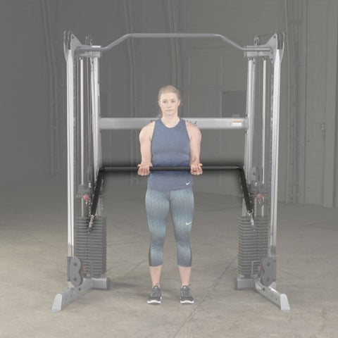 Image of Body-Solid GDCCBAR Bar Attachment 3D View Fade