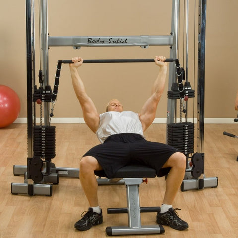 Body-Solid GDCCBAR Bar Attachment Flat Press