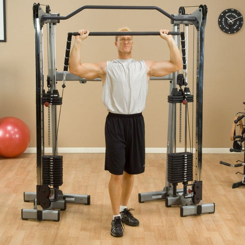 Image of Body-Solid GDCCBAR Bar Attachment Shoulder Press