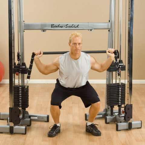Image of Body-Solid GDCCBAR Bar Attachment Squat