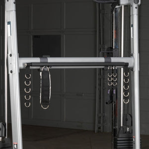 Body-Solid GDCCRACK Accessory Rack Front View