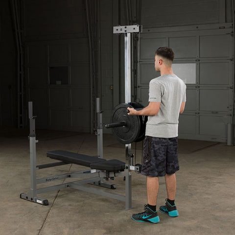 Image of Body-Solid GDIB46L PowerCenter Rack Bench Combo Exercise Figure 1