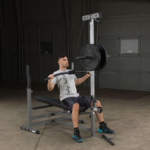 Image of Body-Solid GDIB46L PowerCenter Rack Bench Combo Exercise Figure 2