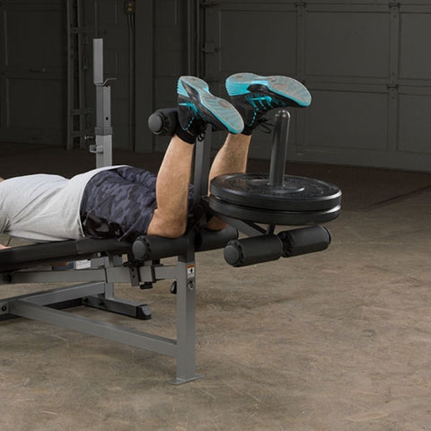 Image of Body-Solid GDIB46L PowerCenter Rack Bench Combo Exercise Figure 3
