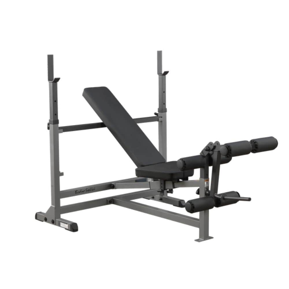 Body-Solid GDIB46L PowerCenter Rack Bench Combo Inclined