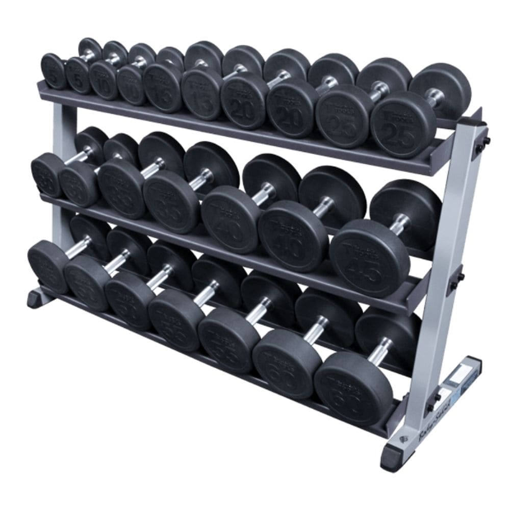 Body-Solid GDR60 Pro Dumbbell Rack With Optional Tray And SDP560