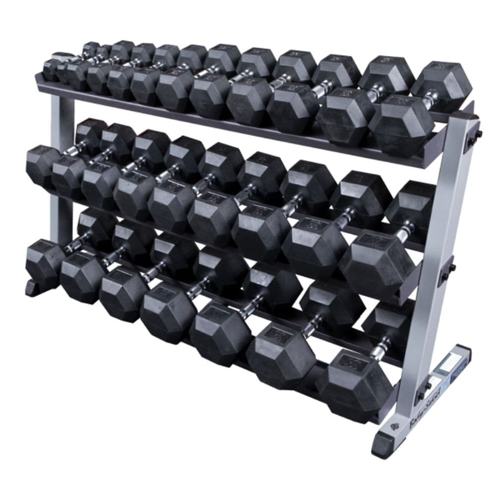 Body-Solid GDR60 Pro Dumbbell Rack With Optional Tray And SDRS570