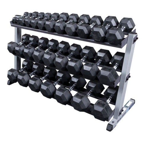 Image of Body-Solid GDR60 Pro Dumbbell Rack With Optional Tray And SDRS570