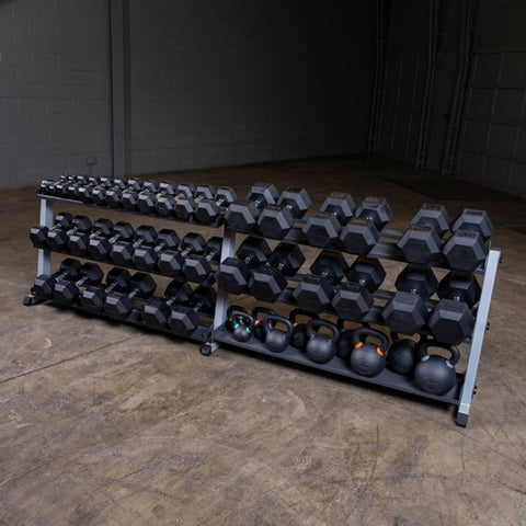 Image of Body-Solid GDR60 Pro Dumbbell Rack With Optional Tray Assorted